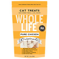 Whole Life Pure Chicken Freeze-Dried Cat Treats, 3.3 oz.
