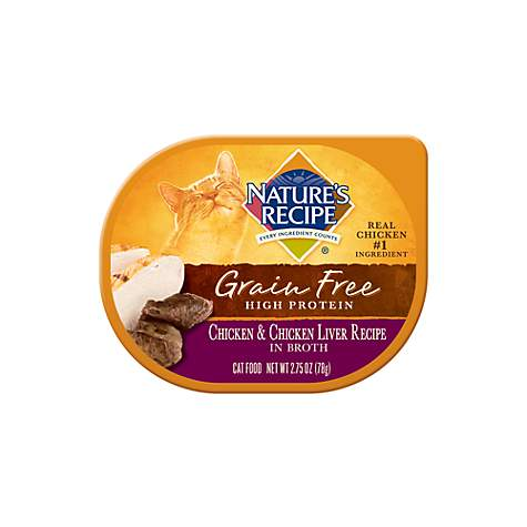Natures recipe grain free chicken chicken liver recipe in broth natures recipe grain free chicken chicken liver recipe in broth wet cat food petco forumfinder Choice Image