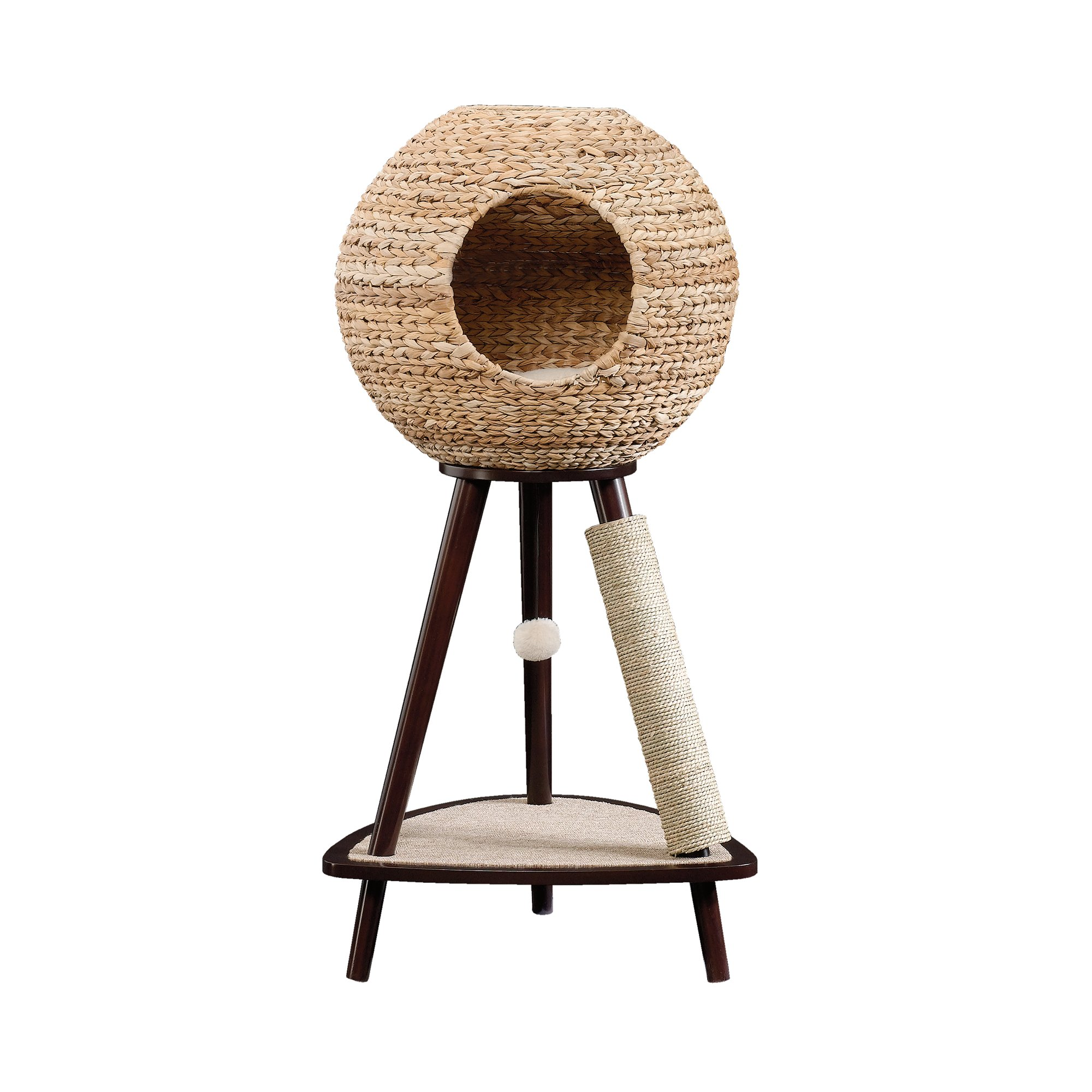 Sauder Natural Sphere Cat Tower Petco