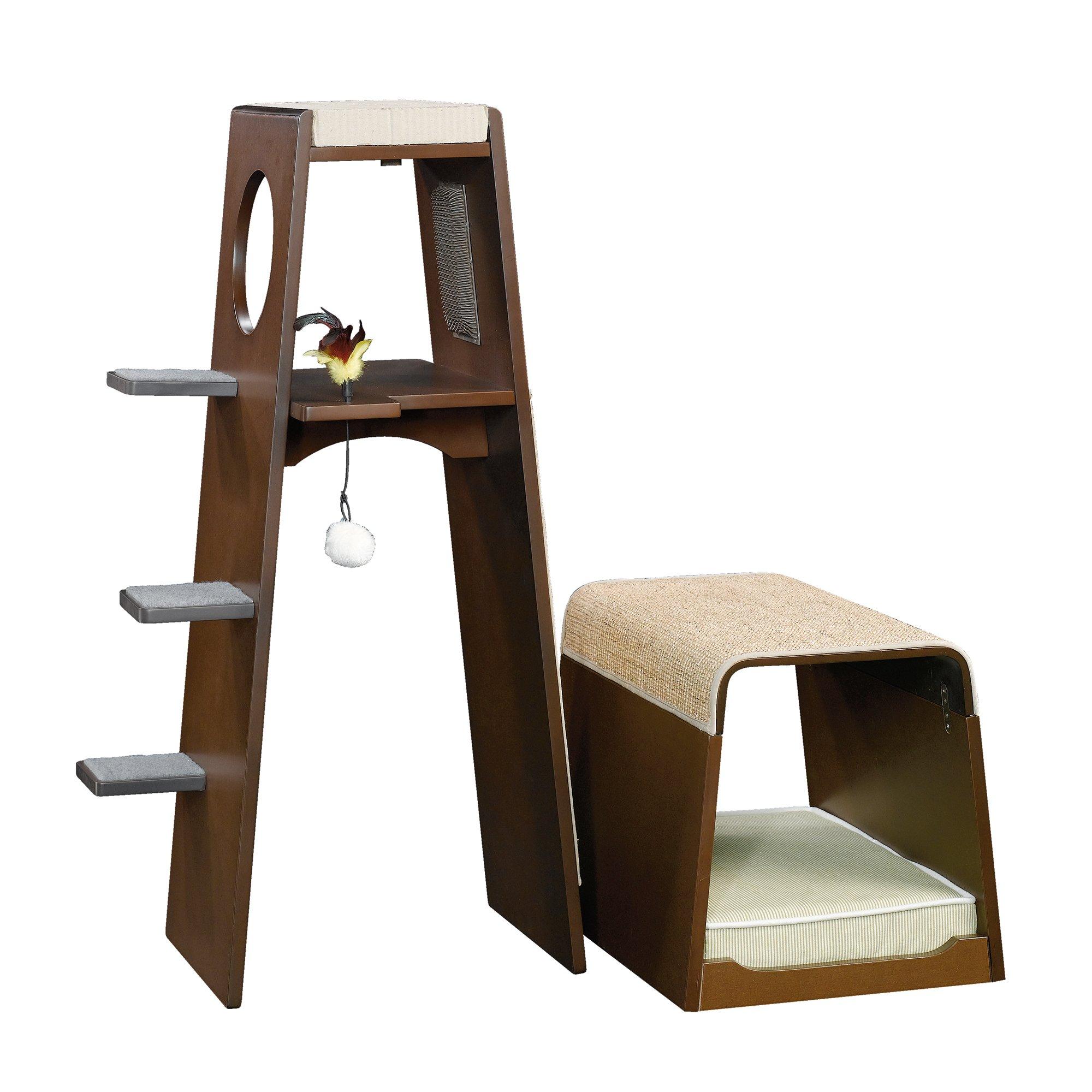 Sauder Modular Modern Cat Tower