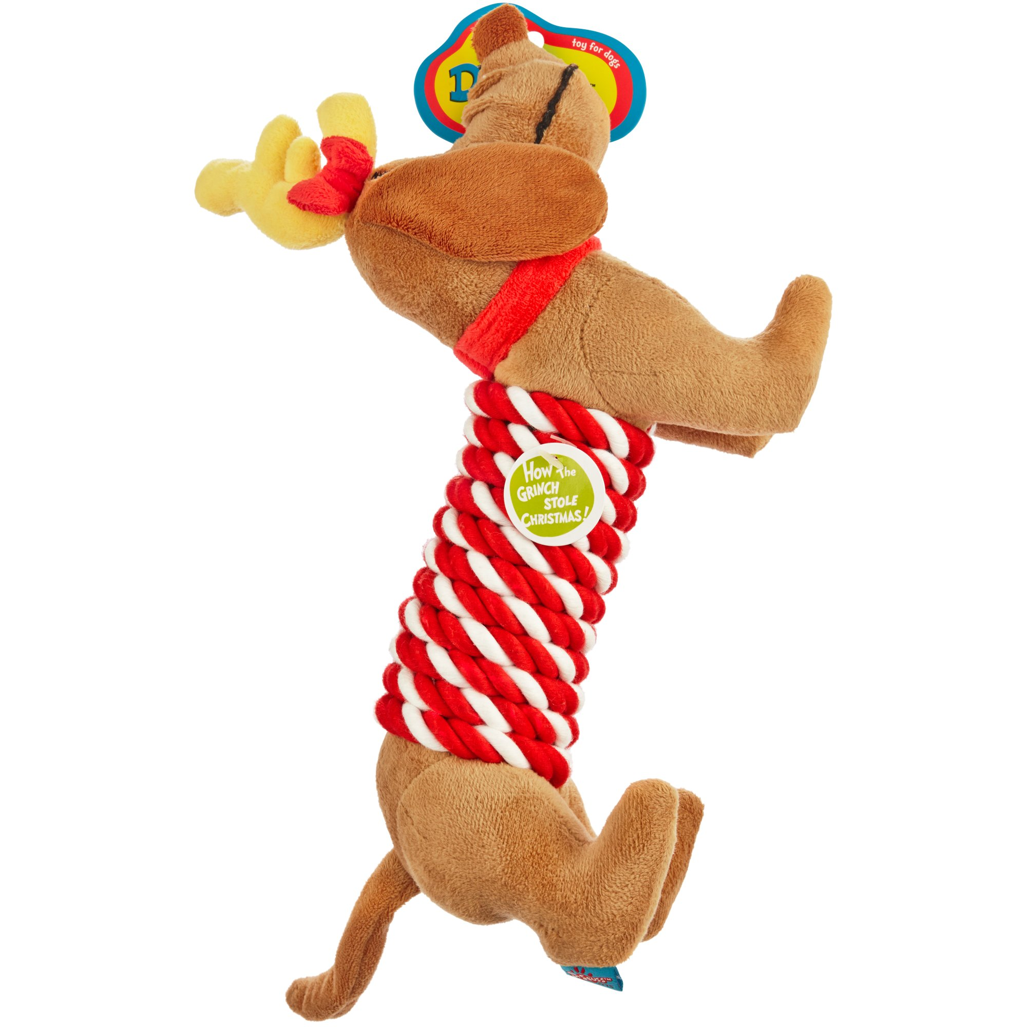 Uncategorized Grinch Dog dr seuss how the grinch stole christmas max rope stick dog toy petco