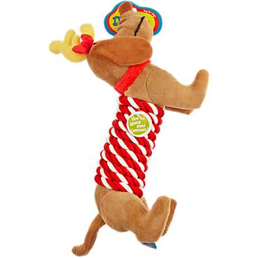 dr seuss how the grinch stole christmas max rope stick dog toy