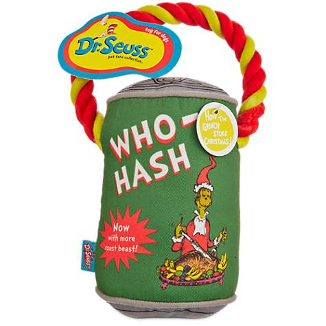 dr seuss how the grinch stole christmas who hash with rope dog toy petco - How The Grinch Stole Christmas Sweater
