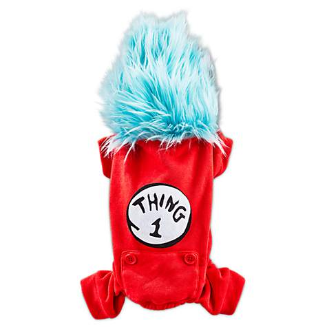 Dr. Seuss Thing 1 Pajama for Dogs