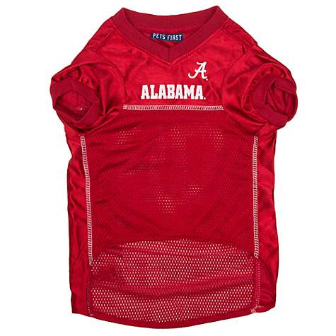 buy online a0cff b671b Pets First Alabama Crimson Tide NCAA Mesh Jersey for Dogs, X-Small