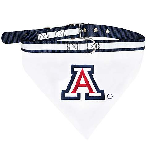 Pets First Arizona Wildcats Collar Bandana