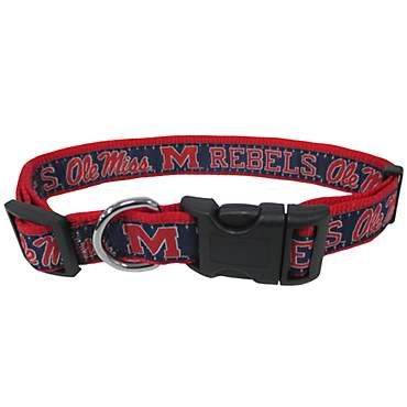 Pets First Ole Miss Rebels Collar