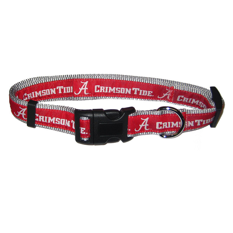 Alabama Crimson Tide Ncaa Dog Collar Large