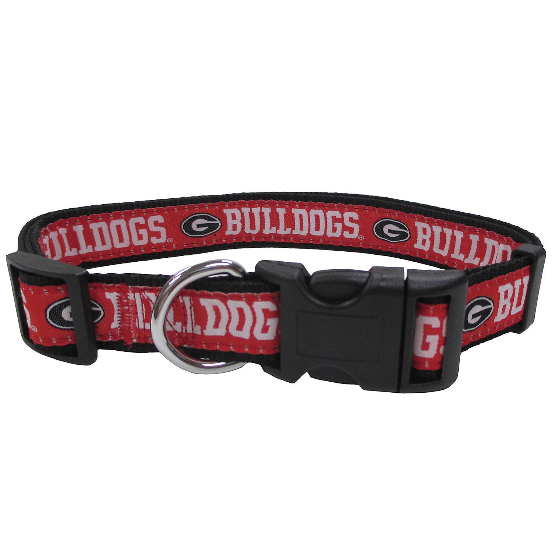 Georgia Bulldogs Ncaa Dog Collar Medium