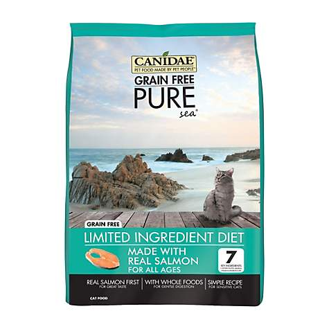 CANIDAE Grain Free PURE Sea Adult Fresh Salmon Cat Food
