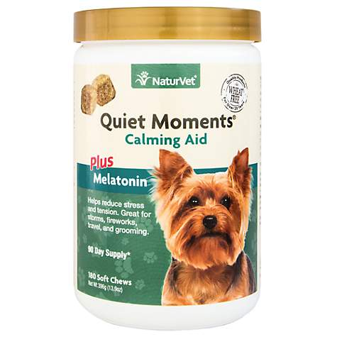 Naturvet Quiet Moments Calming Aid Dog Soft Chews Petco