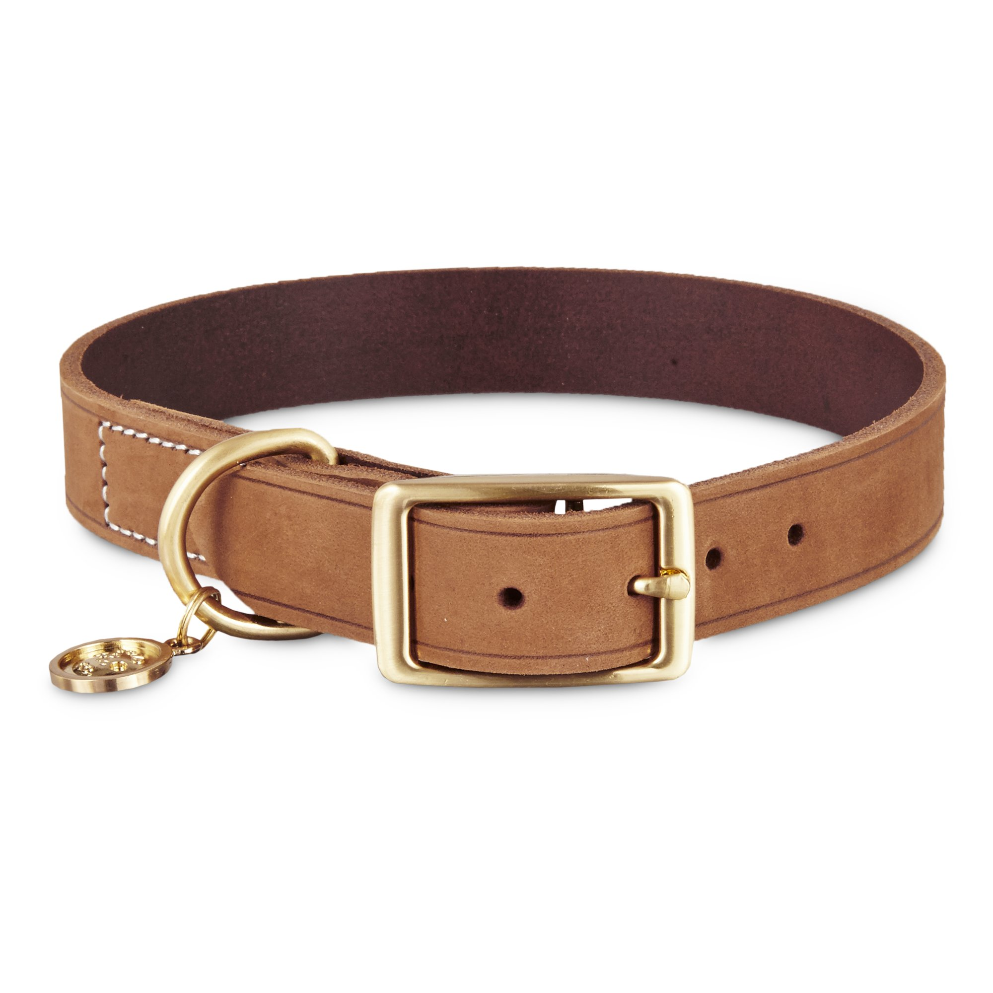Id Dog Collar Leather