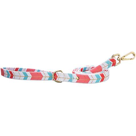 Bond & Co. Gold Chevron Leash