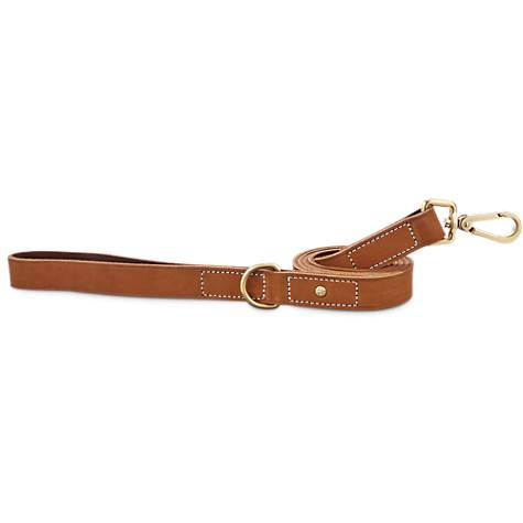 Bond & Co. Copper Suede Leather Dog Leash
