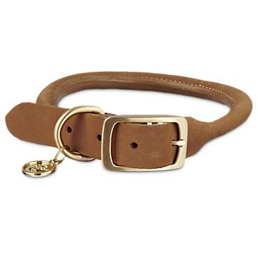Bond & Co. Copper Rolled Leather Collar