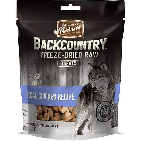 Merrick Backcountry Freeze-Dried Raw Real Chicken Dog Treats