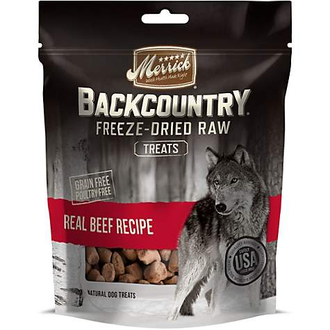 Merrick Backcountry Freeze-Dried Raw Real Beef Dog Treats