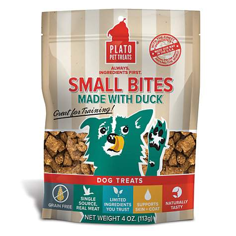 Plato Small Bites Slow Roasted Duck Recipe Dog Treats