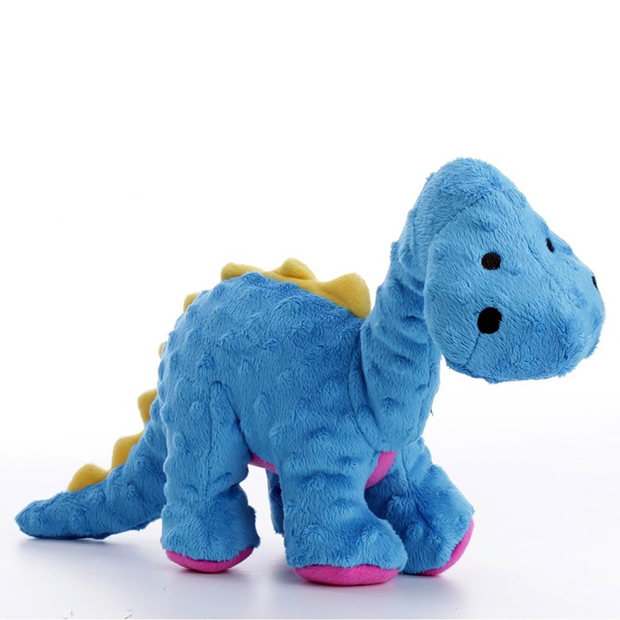 goDog Dino Bruot Blue Dog Toy