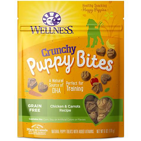 Wellness Natural Grain Free Crunchy Chicken Carrots Recipe Puppy