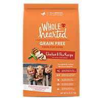 WholeHearted or Whole Earth Farms Dog Food for Free