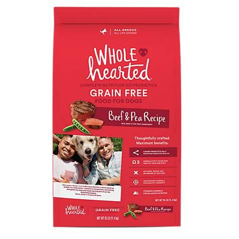 Wholehearted Grain Free Dog
