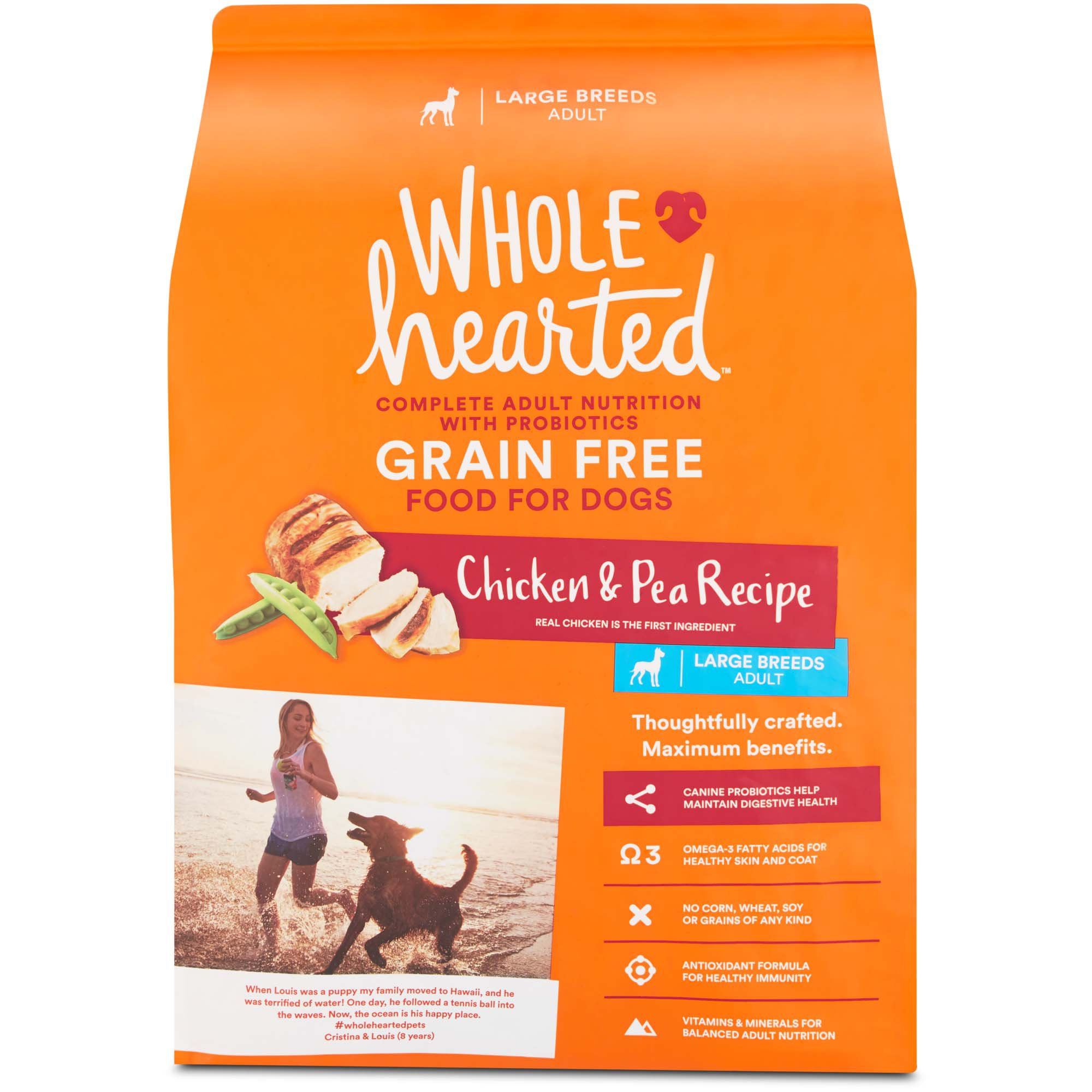 Large Adult Can Dog Food Grain Free