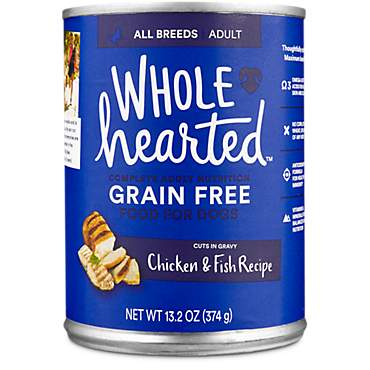 Wholehearted Grain Free Adult Chicken And Fish Recipe Wet Dog Food