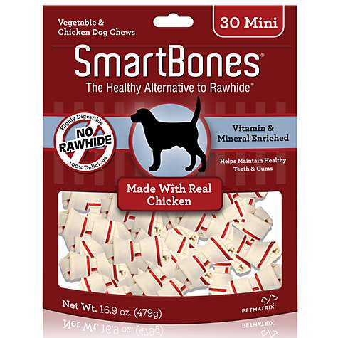 SmartBones Mini Chicken Dog Chews