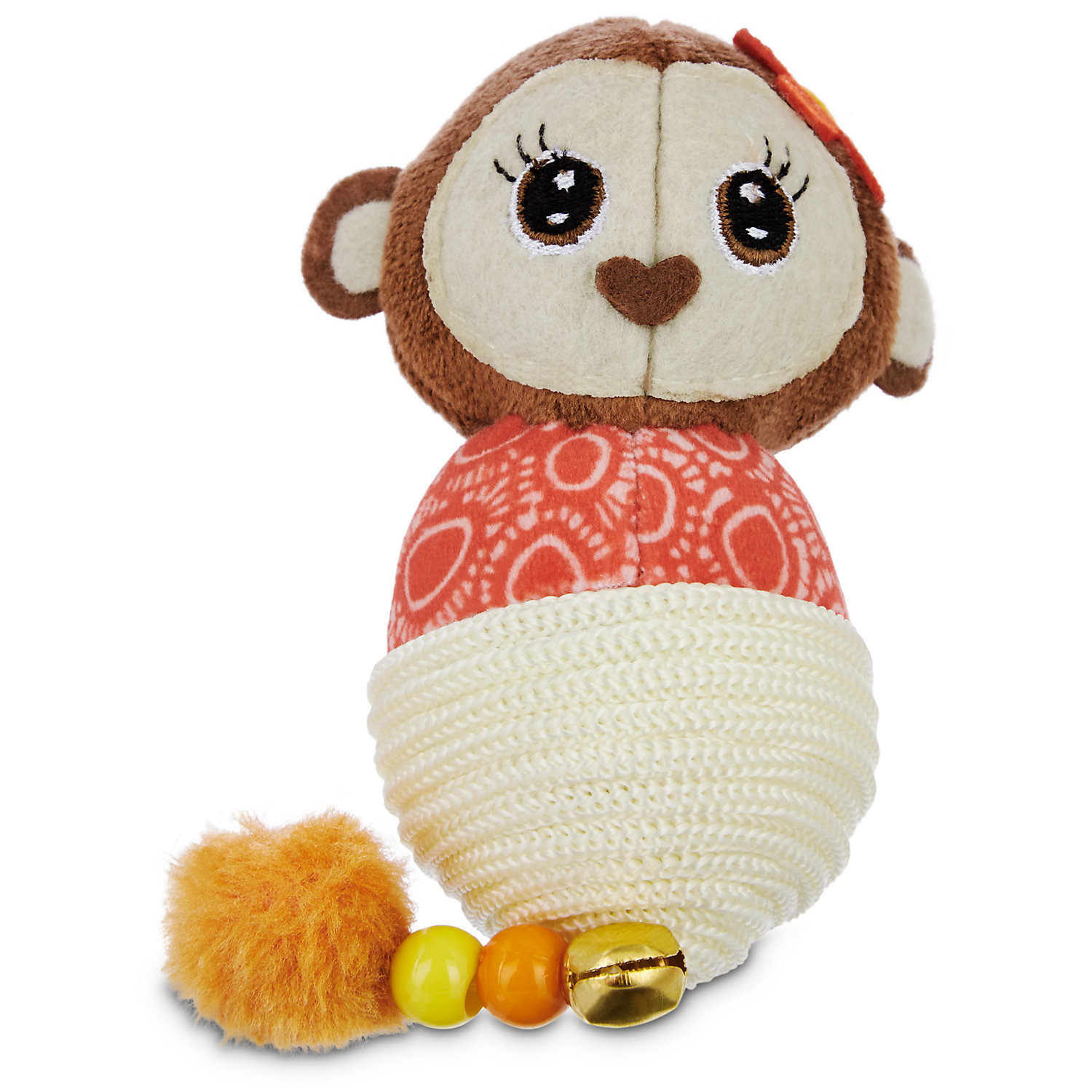 Pets on Safari Plush Monkey Cat Toy