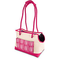 Pets on Safari Pink Tote Dog Carrier