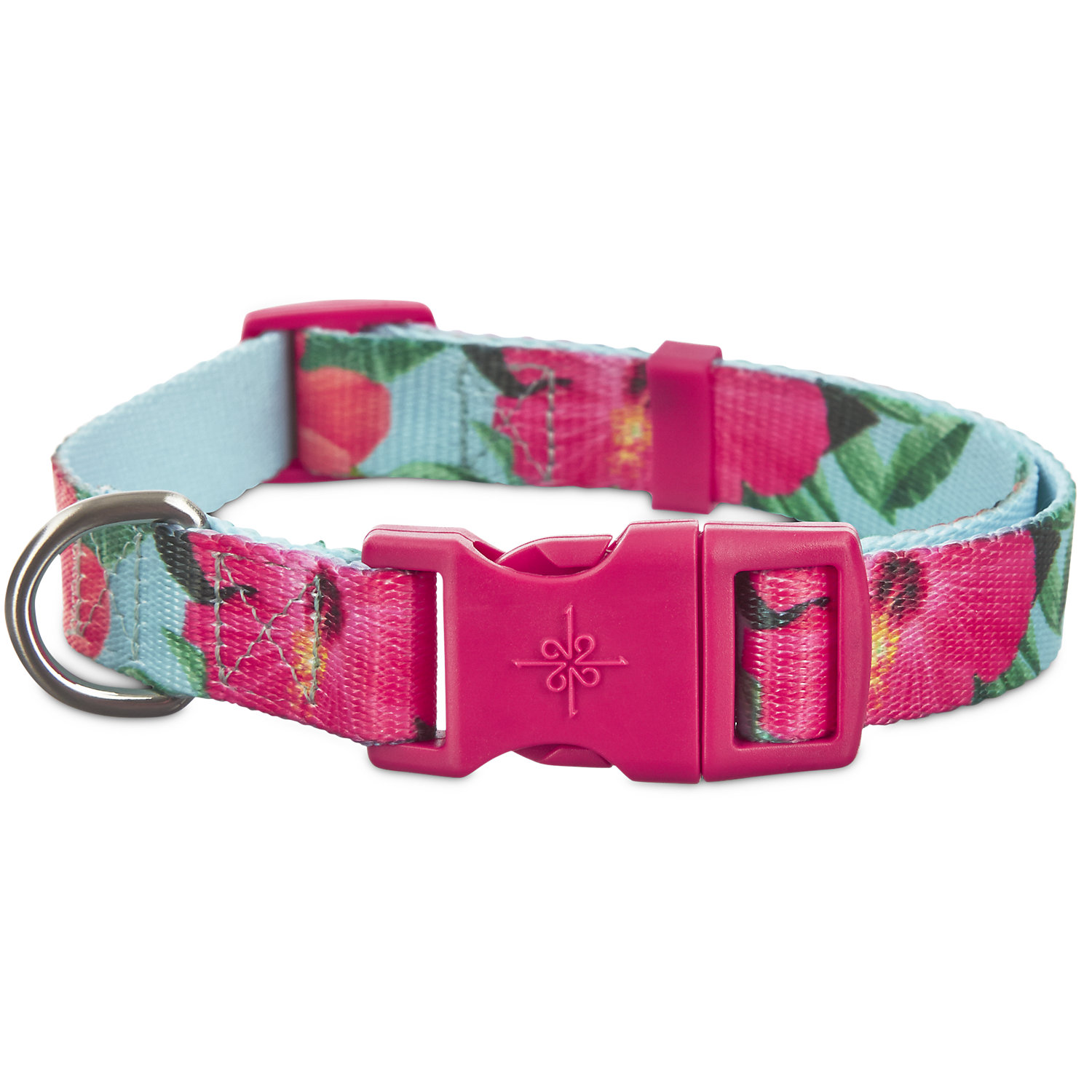 Home collars blueberry pet dog collar nautical flags inspired -  33 Good2go Hibiscus Dog Collar