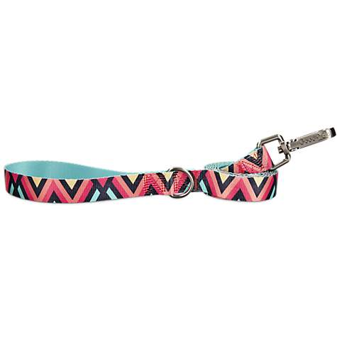 Good2Go Chevron Dog Leash in Pink