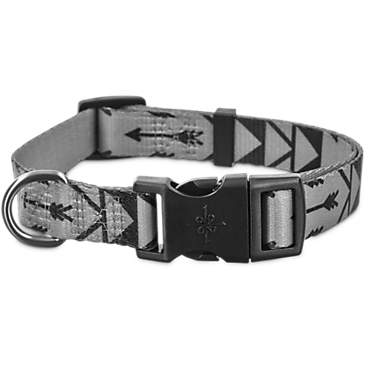 Good2Go Grey Arrow Print Dog Collar