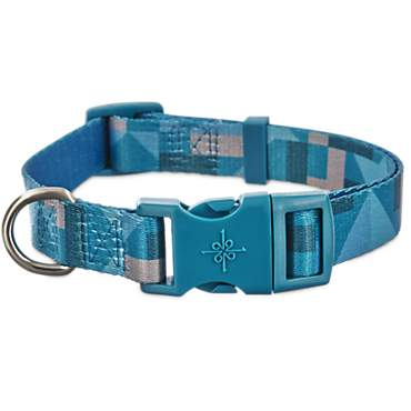 Good2Go Blue Sea Geometric Dog Collar