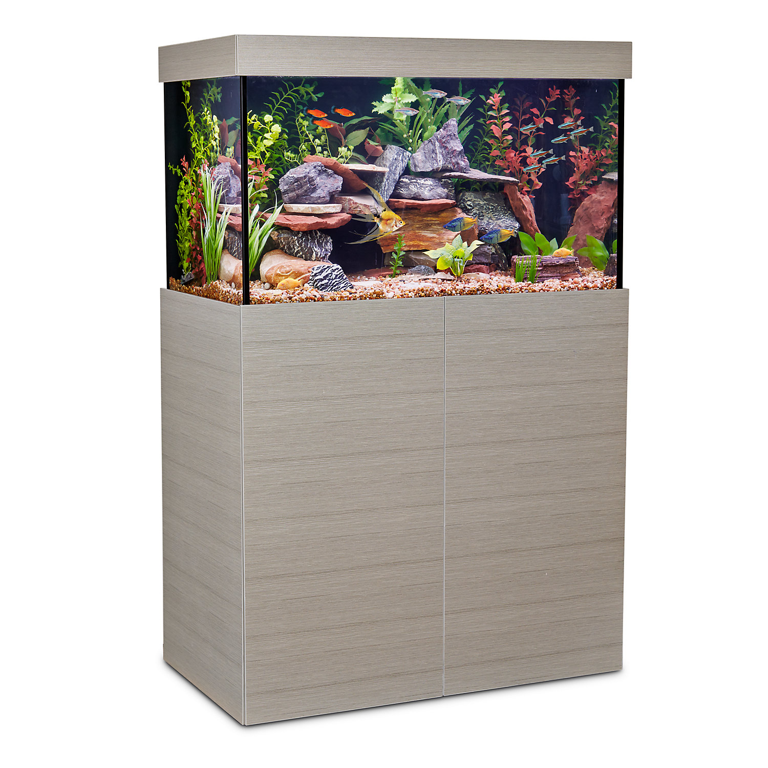 Aquarium decorations cheap online fish aquarium d cor deals for Aquarium decoration online