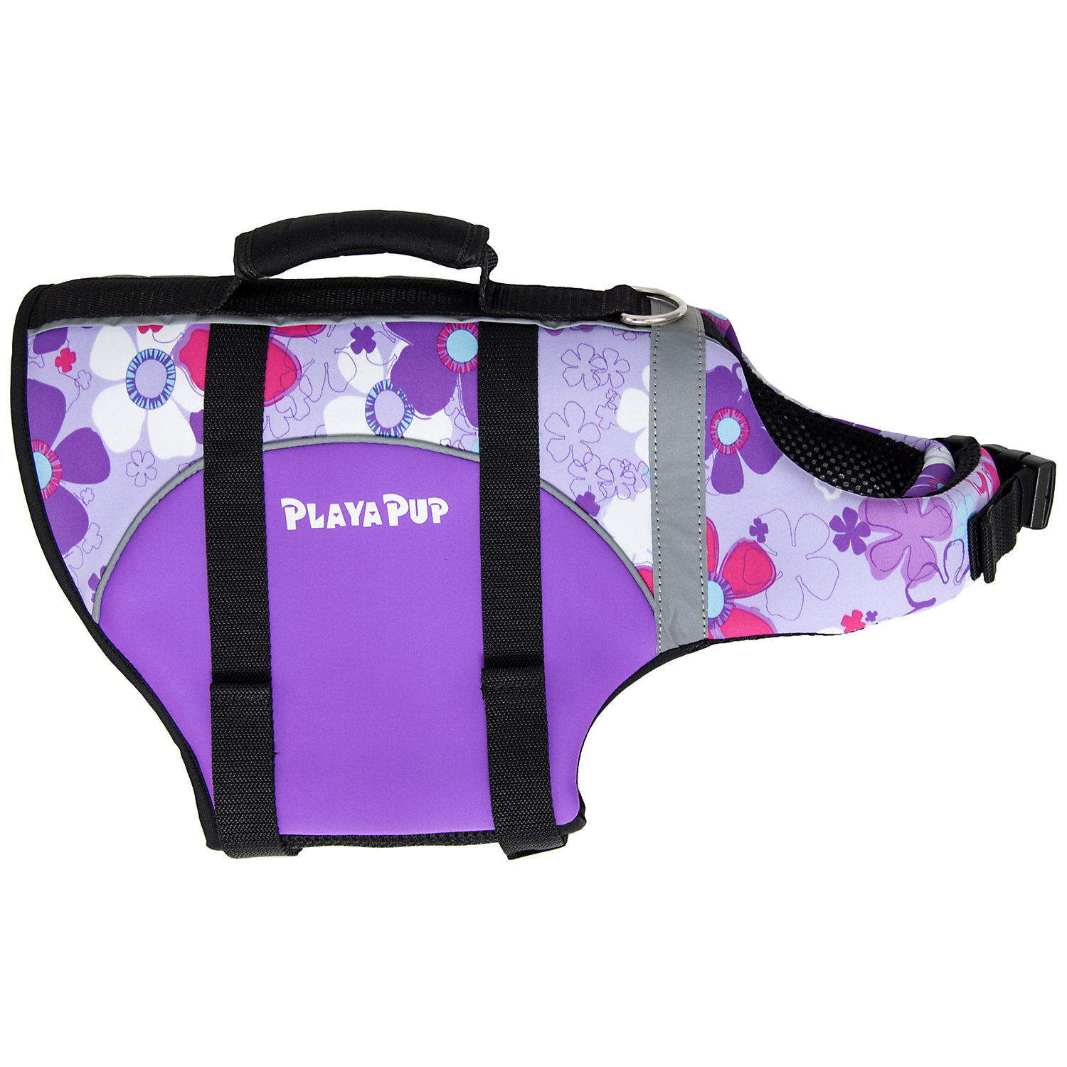 Image of Playa Pup Orchid Dog Flotation Vest