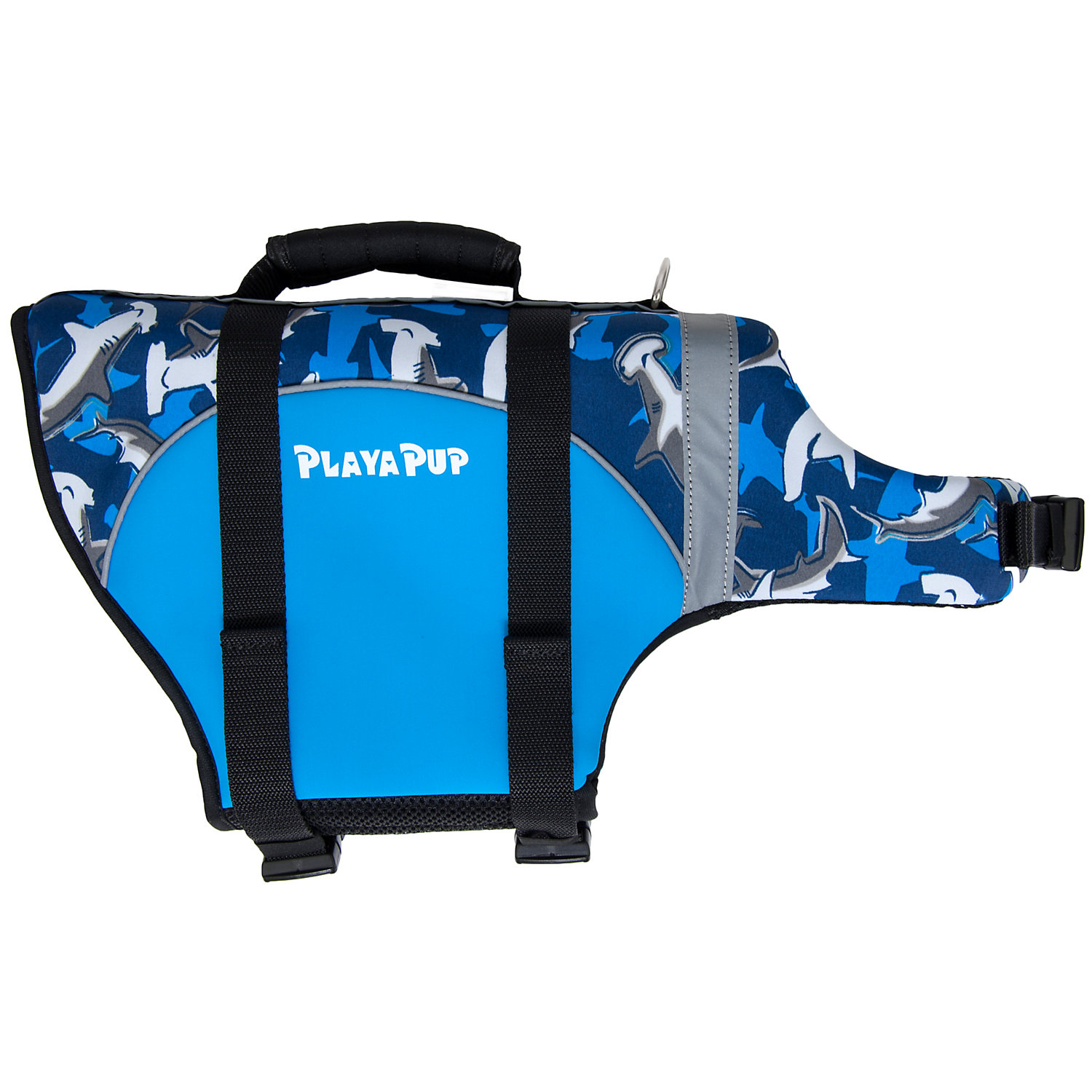 Image of Playa Pup Surf Blue Dog Flotation Vest
