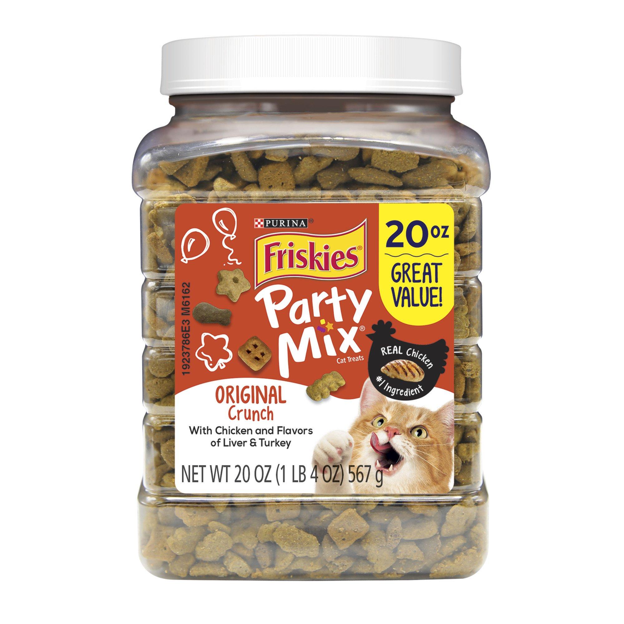 Purina Friskies Party Mix Crunch Original Cat Treats