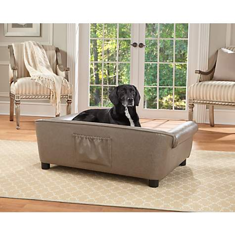 Enchanted Home Pet Pewter Rockwell Pet Sofa | Petco