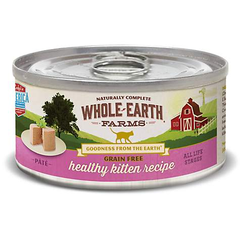Whole earth farms grain free real healthy kitten recipe wet cat food whole earth farms grain free real healthy kitten recipe wet cat food forumfinder Image collections