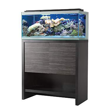 Fluval Reef M90 Aquarium Set w/Black Stand