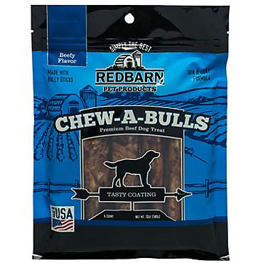 Redbarn Beef Chew-A-Bulls Dog Treats