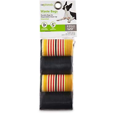 So Phresh Striped Dog Waste Bag Refills