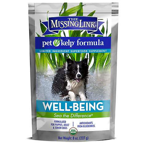 The Missing Link Pet Kelp Formula Well Being for Dogs