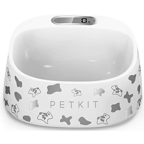 PetKit FRESH Smart Digital Feeding Pet Bowl - Black & White