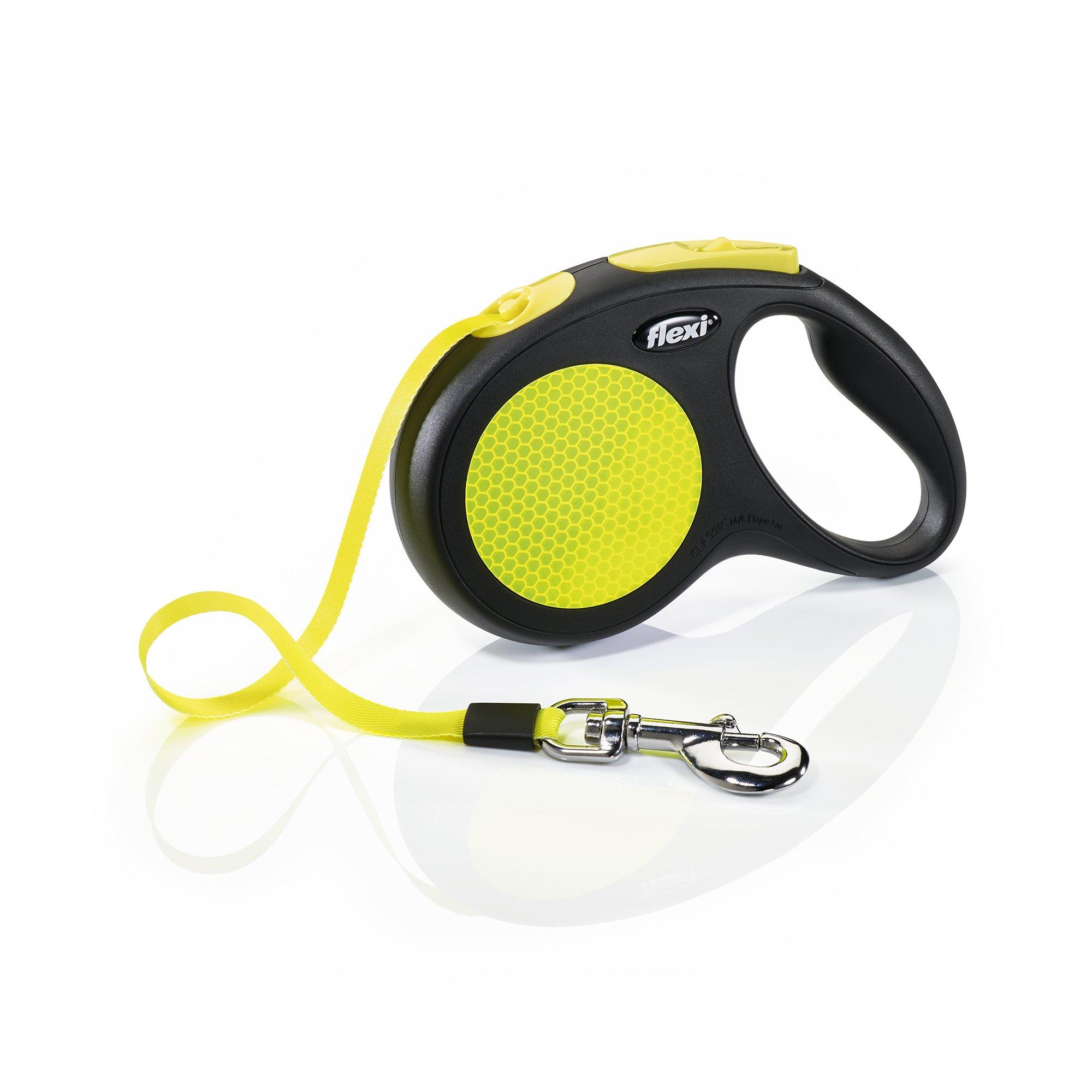 Flexi New Neon Reflective Retractable 16' Tape Leash | Petco at Petco in Braselton, GA | Tuggl