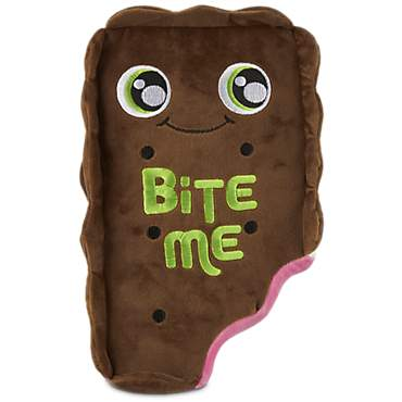 Leaps & Bounds Bite Me Ice Cream Sandwich Plush Dog Toy