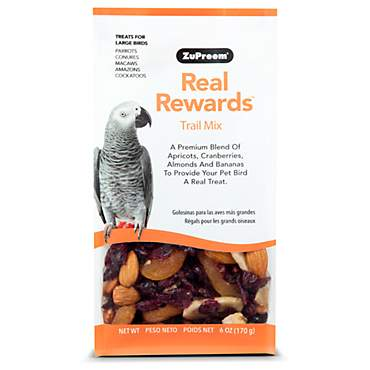 ZuPreem Real Rewards Trail Mix Treats for Large Birds