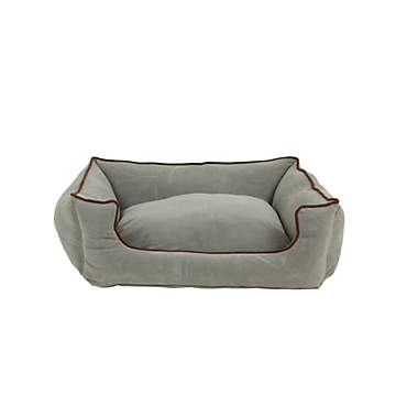 Carolina Pet Company Spa Blue Microfiber Kuddler Lounge Dog Bed